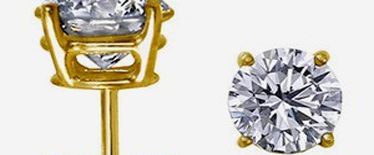 Бриллиантовые серьги
