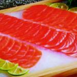 Сашами из лосося